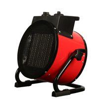 Precio de Air heater-hogar libre del envío de cerámica de alta potencia industrial calefacción calentador calentador eléctrico de aire caliente