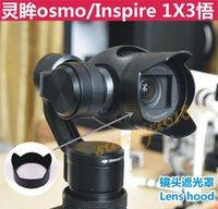 Wholesale Camera Lens Sun Hood Sunshade Cap For DJI Inspire Quadcopter amp DJI osmo accessories