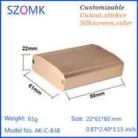 aluminium extrusion manufacturers - china market of electronic gps tracker aluminum extrusion manufacturer shell enclosure aluminium diy case pc mm AK C B38
