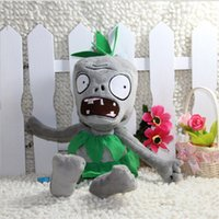 bear grass plants - 28CM Grass skirts Zombie Plants vs zombies doll plush toy Doll Stuffed Animals Baby Toy for Children Gifts Wedding Gifts toys