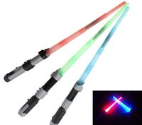 best weapon light - BEST SELLING Star Wars Lightsaber LED Light Saber Telescopic Cosplay Star Wars Weapons Sword with Light and Sounds PVC Action Figure Toys