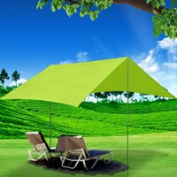 Wholesale cm cm Outdoor Awning Tent Camping Shade Gazebo for Garden Single Beach Sun Canopy Shelter