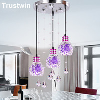 arrival crystal store - New store promotion NEW arrival W W W light LED crystal stainless steel modern chandelier lights