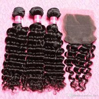 Wholesale Malaysian Curly Hair With Closure Hair Bundles With Lace Closures Malaysian Virgin Hair With Closure