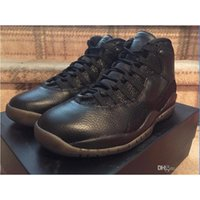Cheap AIR Retro 10 OVO RETRO OVO 10 men basketball shoes online cheapest authentic original good 1:1 quality sneakers US size 8-13 free shipping