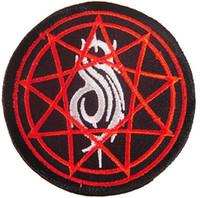 achat en gros de musique patch bande-New Slipknot Hippie Punk Rock rétro applique fer sur timbre métal lourd groupe de musique coudre insigne Biker Vest