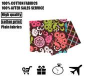 al por mayor almohada de algodón de la muñeca-Paño del algodón del vb de la tela, tela colorida DIY de la impresión de la tela de la impresión. Conveniente para la almohadilla, bolsos, tales como muñecas del paño, envío libre