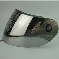 Wholesale A G V k3 k4 full face motorcycle helmet visor Rossi moto helmets lens shield clear black silver Plated blue