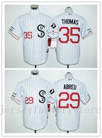 Wholesale Cheap Chicago White Sox Frank Thomas Jerseys Abreu Baseball Flexbase Jersey Cool Base Jersey throwback MLB baseball jerseys for sale