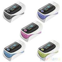 Wholesale OLED Finger Blood Fulse Rate Heart Rate Monitor Fingertip Pulse Oximeter
