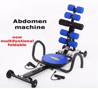 Wholesale multifuntional foldable ab machine gym fitness ab machine ab machine equipment sit ups push ups thin legs twisting waist