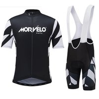 Wholesale 2016 Morvelo Cycling Jerseys Roupa Ciclismo Quick Dry Lycra GEL Pad Race MTB Bike Bib Pants and fashion clouthes New pattern