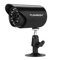 Wholesale FLOUREON X4CH H P2P AHD P CCTV DVR X Outdoor TVL CMOS PAL IR CUT IP66 TVL Camera Home Security Camera Set
