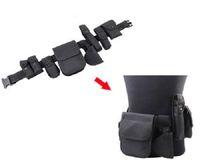 Wholesale NEW SECURITY POLICE MODULAR EQUIPMENT SYSTEM TACTICAL MILITARY NYLON DUTY BELT NICE Molded Nylon Set Black Brand New