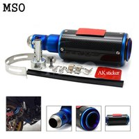 Wholesale Motorcycle Modified exhaust pipe Scooter Akrapovic yoshimura Exhaust Muffle pipe For Suzuki GSXR600 GSXR600 K4
