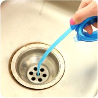 Wholesale 5 Home Cleaning Brushes Tools Accessories Drain Sink Cleaner Bathroom Unclog Sink Tub Snake Brush Hair Removal Cleaner Tool