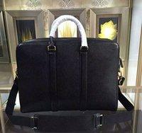 Nuovi designer famosi genuino borsa a tracolla di marca degli uomini valigetta in pelle Borse di alta qualità degli uomini di affari borsa per maschio 212