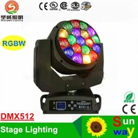 100-240V bees lighting - DMX512 Bee Eyes LED Moving Head stage lighting X15W W RGBW IN DJ lamp Super effect LED stage lighting christmas