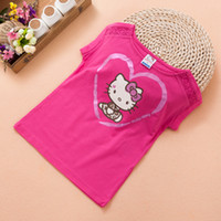 best buy money - 2016 summer money to buy the best cute girls Kitty short sleeved T shirt