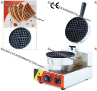 Wholesale v v Electric Commercial Use Non stick Round Belgian Waffle Maker Iron Baker Machine Mold Plate