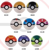 abs video - 9 Style ABS Action Anime Figures cm Pikachu Figure PokeBall Fairy Ball Super Ball poke Ball Kids Toys Gift yzs168