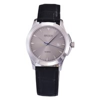 accessories wrist watches - Men Watches Wrist Watch Christmas Gifts Brand New Fashion Quartz Leather Band Stainless Steel IPG Silver Gold Party Dress Accessory OEM