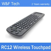 android or ipad - Touchpad Measy Mini Fly Air Mouse RC12 G Wireless Keyboard Gyroscope Game Handheld Remote Control for Android Mini PC TV Palyer Box
