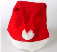 best teenage parties - hot hot hot Adult Kids Christmas Xmas HAT RED best gift for christmas day party gift