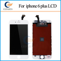 Wholesale Black and white Genuine LCD for iPhone plus Display with Digitizer Replacement Quality AAA No Dead Pixel fast DHL Shipping
