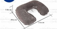 air body pillow - Travel U Shape Pillow Velvet Neck Pillow For Plane Body Pillow For Rest At Noon Pillow Versatile Neck Via Collection Air SZ P02