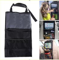 Wholesale ipad hanging child car back seat bag car debris storage bag organizer toy storage accessories