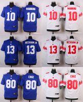product - New product Elite Odell BECKHAM JR Victor Cruz Eli Mannin football Giants jerseys Cheap embroidery Mix Order