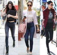 best grey jeans - 2016 New Super Skinny High waist Jeans women Blue Grey Black Colors Best selling jean Luxury Brand Good Stretch Quality Slim Leggings