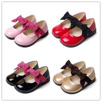 Wholesale Children Shoes In The Kids Sneaker For Girls Shoes With Flat Girls Princess Dress Shoes Kids Leather Shoes Insoles CM