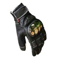 alpine steel - Alloy Steel Motorcycle Gloves Racing Gloves Breathable Wearable Protective Gloves Guantes Moto Luvas Alpine Motocross Stars