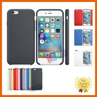 Cheap Luxury Original Silicone Leather Cover Ultra-Thin Phone Case For Apple iPhone 5 5s se 6 6S Plus