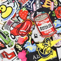 Multitudinal accessories for sewing bags - Diy patches for clothing iron embroidered patch applique iron on patches sewing accessories badge stickers for clothes bag
