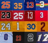 Wholesale Men Cheap Basketball Jerseys Throwback Sport Shirt Basket Ball Wear Man With Team Logo Player Name Size S XXXL Camiseta de baloncesto