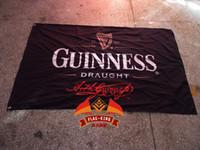 beer draught - guinness draught beer flag Bar promotions banner flagking custom polyester flag