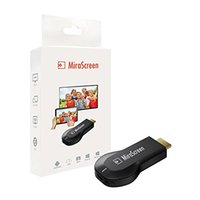 Wholesale MiraScreen Wireless WIFI Display Dongle Airplay WiFi Hdmi Streaming Media Dongle Miracast Device Support Windows MacOS Android iOS