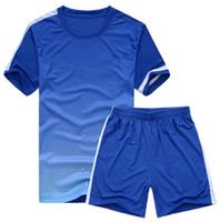 Wholesale Football Jersey Short Pants Suit Soccer Sets Sportswear Suit Sport Training Clothes