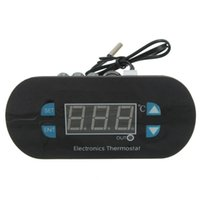 Wholesale High Quality DC AC V Digital Thermostat Temperature Alarm Controller Sensor Meter
