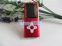 Wholesale super slim th Gen gb Mp3 mp4 player Suport Fm Ebook Video Photo Colors with good earphone usb crystal box factory price