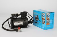 Wholesale Hot sale Portable Mini Car Tire Air Compressor PSI and PSI Volt with Pressure Checking Gauge