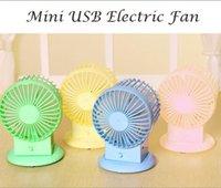 radiator fan motor - 4pcs USB Electric Fan Mute Radiator Fan Portbale colorful Fan Dual Motor Blower baby infant cooling desk fan