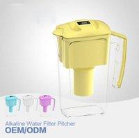 alkaline water manufacturers - Manufacturer price Alkaline Water Ionizer L New Style Alkaline Water Ionizer Pitcher pH ORP mv to mv