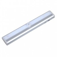 bedroom closet cabinets - 10LEDs Motion Sensor Closet Cabinet Light Auto PIR Infrared Induction Lamp Night Light For Bedroom Kitchen Stairs