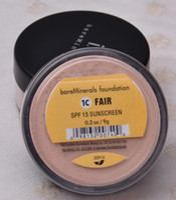 beige foundation - High quality HOT bare Minerals original Foundation loose powder C FAIR g N MEDIUM BEIGE g G GOLDEN MEDIUM g DHL free