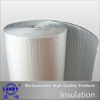 aluminum building materials - Aluminum Foil Bubble Silver Insulations For building material For wall paper soundproof can print LOGO size can customized