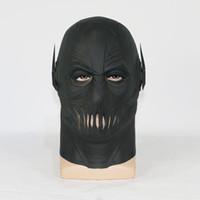 Wholesale Cosplay Zoom Mask Marvel Tv Flash Mask Halloween Party Mask Cosplay Flash Costume Prop
